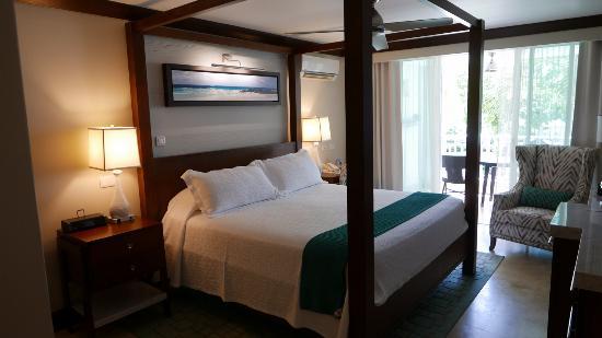 Regular room - very comfy large bed