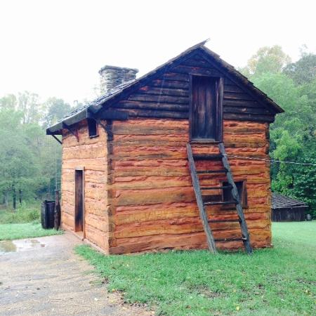 Booker T. Washington National Monument: Restored Kitchen Cabin