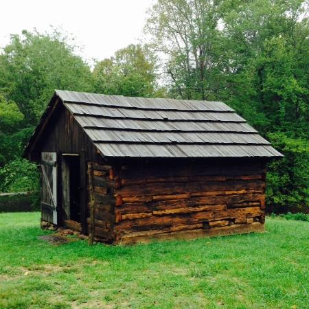 Booker T. Washington National Monument: The Smokehouse