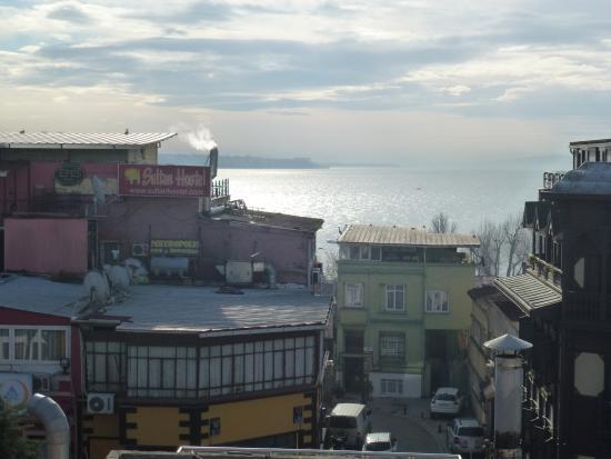 Istanbul Hostel: Aussicht von der Dachterrasse des Hostels