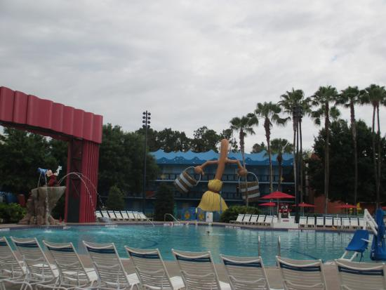 Pool picture of disney 39 s all star movies resort orlando for Pool show orlando 2015