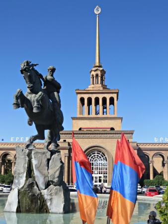 Areg Hotel : The main railway station in Yerevan (5 minutes' walk from the hotel)