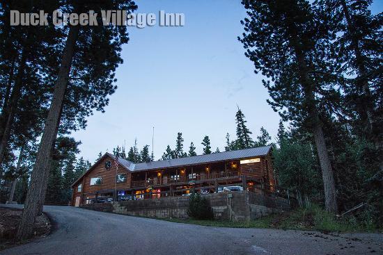 Duck Creek Village, UT: Vue extérieure de l'hôtel