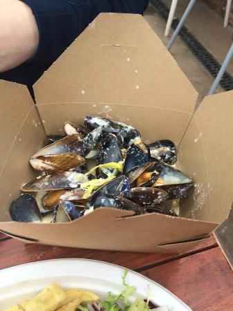 The Rocketeer Restaurant: Mussels