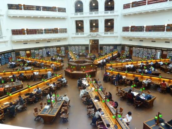 The Reading Room Picture Of State Library Of Victoria