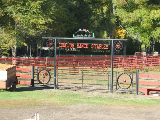 Conejos River Guest Ranch: Stables Area