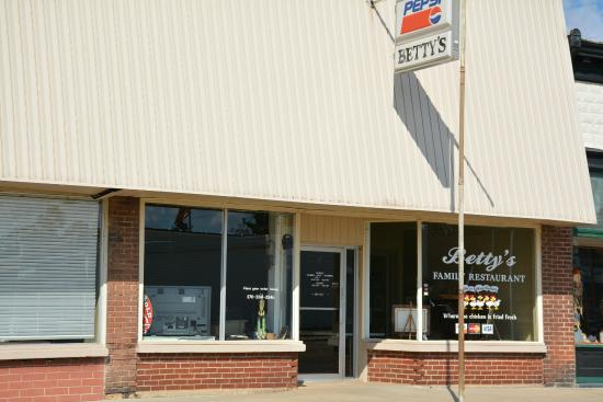Benton, KY : Betty's Restaurant At Barlow, KY