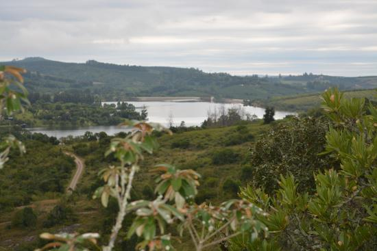 Hulala Lakeside Lodge: Stunning vies of the Da Goma Dam