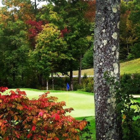 Green Mountain National Golf Course: The leaves are just starting show us what an amazing fall is going to look like!