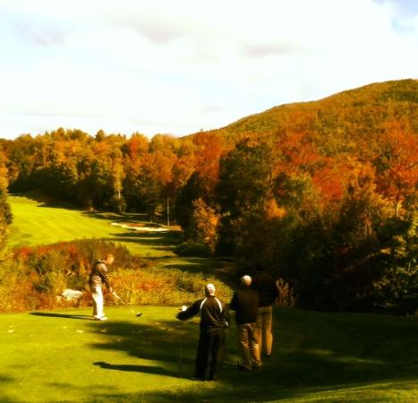 Green Mountain National Golf Course: Green-Yellow-Red-Orange Mountain National! 10-3-2015