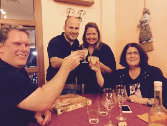 Ristorante La Locanda Delle Streghe : A great time, excellent food and Massimiliano made us feel like family!