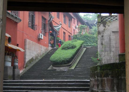 Huayan Temple of Chongqing : храм весной