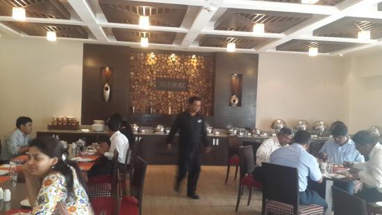 Caspia Hotels - Bengaluru: The dining area