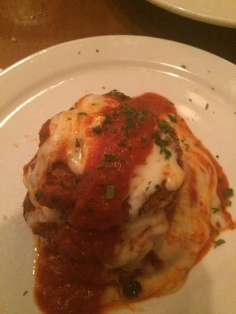 Eggplant Parm Stack Appetizer Picture Of Two Meatballs In The Kitchen Fort Myers Tripadvisor