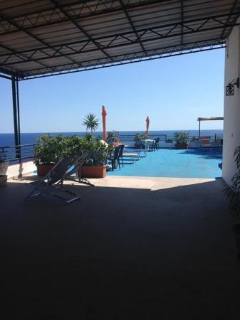 Terrace - Picture of Le Terrazze Studio Apartments, Ustica ...