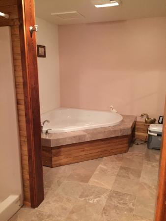 Estherville, IA: Hot tub in Swan Room