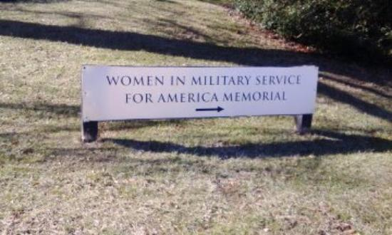 Women in Military Service for America Memorial : nice place
