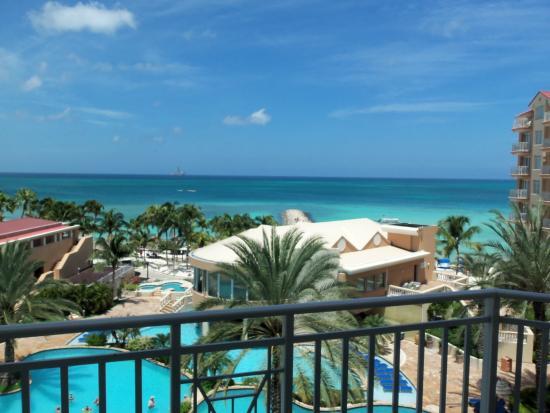 View from the balcony picture of divi aruba phoenix - Divi beach aruba ...