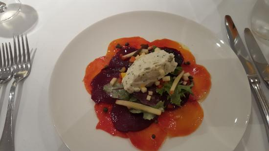 Sunny Brae: Beet salad with feta