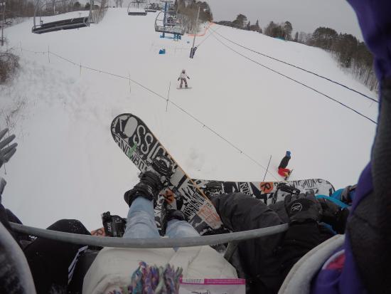 Laurentian Ski Hill: Snowboarding