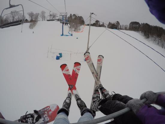 Laurentian Ski Hill: Skiing