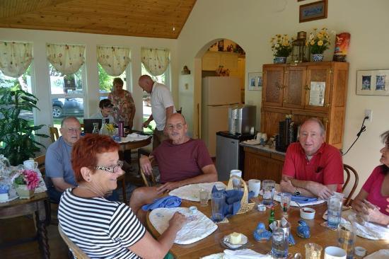 Fish Haven, ID: Breakfast like Family