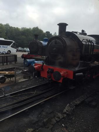 Lakeside Steam Train journey