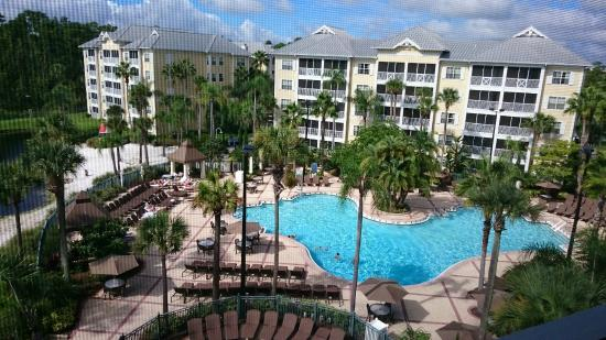 Our View Of Key West Pool From Room 14502 Picture Of
