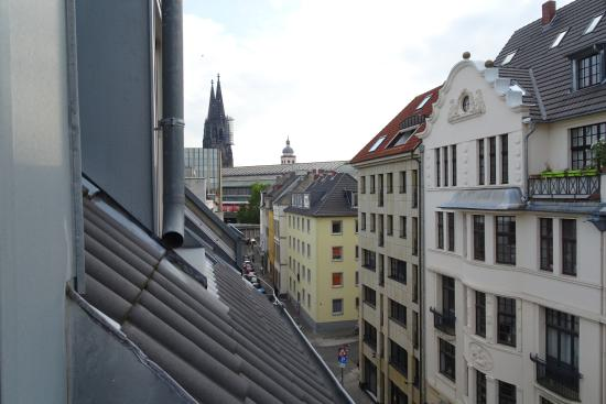 Hotel Domstern: Cathedral view