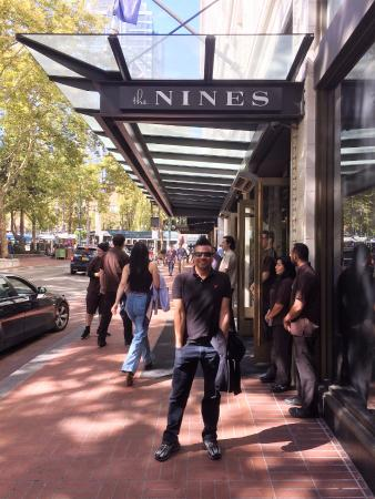 The Nines, a Luxury Collection Hotel, Portland: The hotel entrance