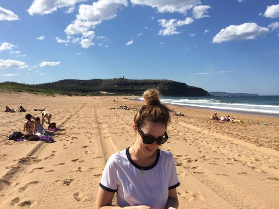 Home & Away filming at Barrenjoey Beach - Picture of Palm Beach Bed