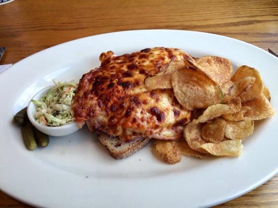 Mountain Brauhaus Restaurant : A hot brown sandwich