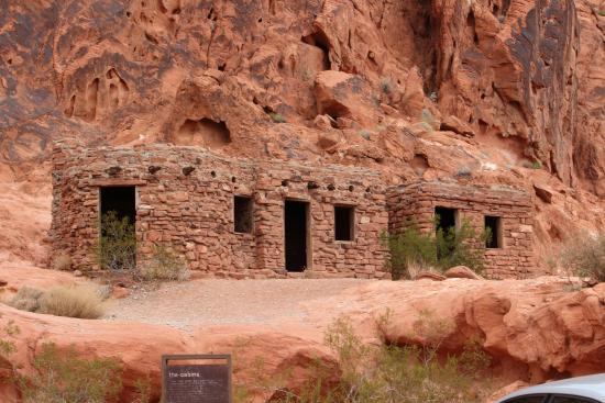 cabins picture of valley of fire state park overton