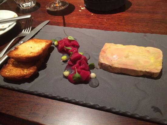 KOLLAZS - Brasserie & Bar: Foie gras terrine