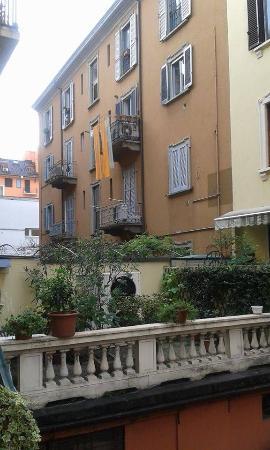 Del Sole: Вид из окна отеля