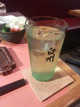Ginzaisomura Kannaiten : 14.06【ぎんざ磯村関内】白州ハイボール