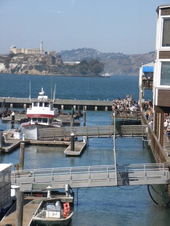 View from table picture of fog harbor fish house san for Fog harbor fish house san francisco