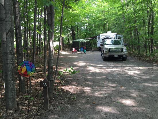 Grand Isle, VT: Campsite 1A