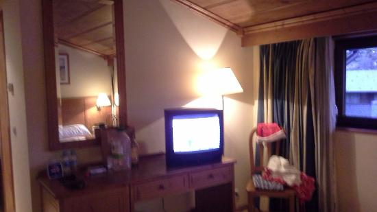 Hotel Euro Esqui: Our cheaper room & view