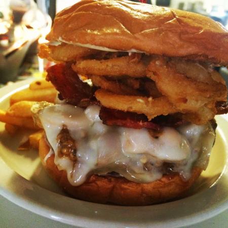Waterford, CA: Melted Swiss Mushroom Burger