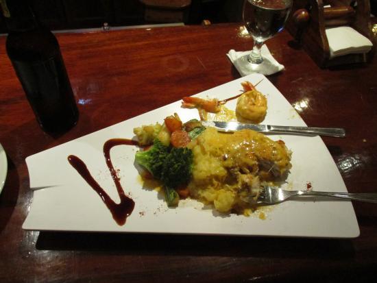 Villa Vista Mar : Mahi Mahi, Potatoes and Veggies