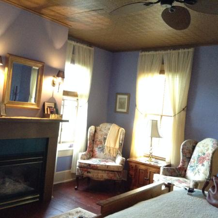 Pine City, Estado de Nueva York: Rufus Tanner House Bed & Breakfast - Empire Room