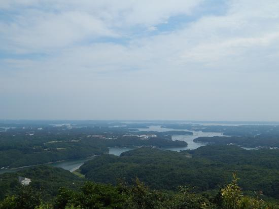 Yokoyama : 横山から望む英虞湾