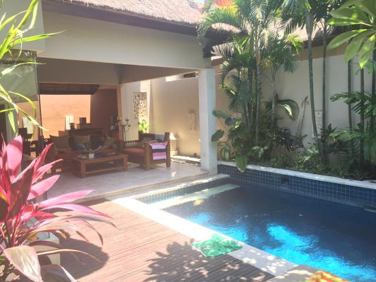 Villa Pool Picture Of Bhavana Private Villas Seminyak Tripadvisor