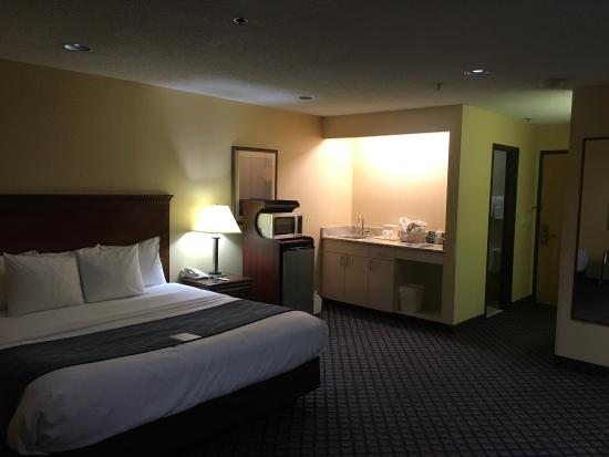 Comfort Inn Grand Blanc: We had a wonderful stay at this Comfort Inn! The staff, from the front desk to housekeeping to b