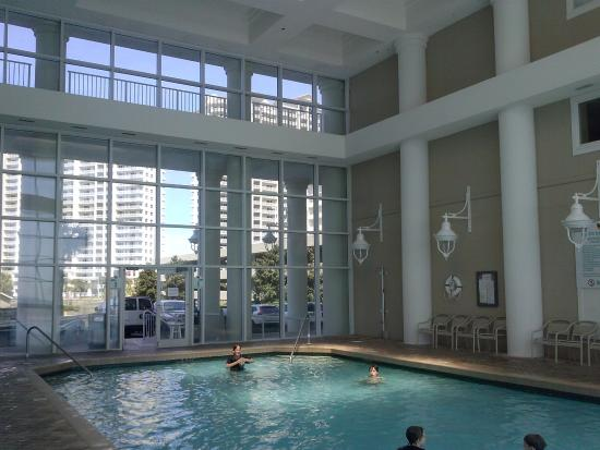 Where the indoor and outdoor pools meet picture of for Hotels with indoor pools in florida