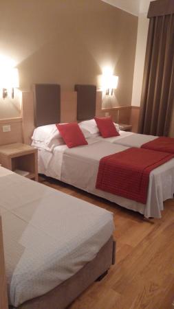 Hotel Nord Nuova Roma: quarto triplo
