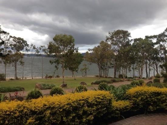 Tinaroo, Australia: View from our front balcony