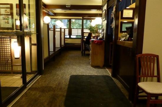 Kyoto Anese Restaurant 受付から見た店内