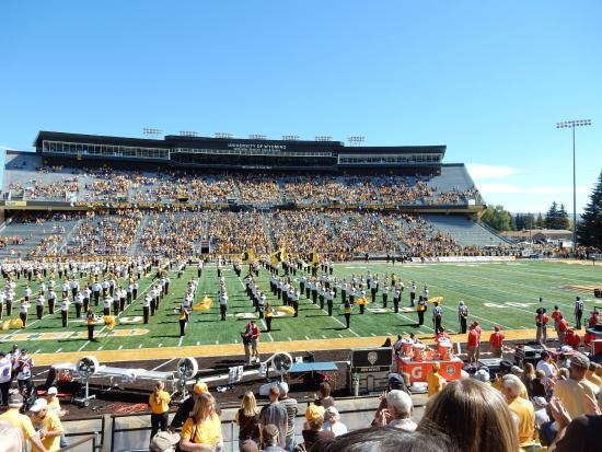 University of Wyoming Football Game